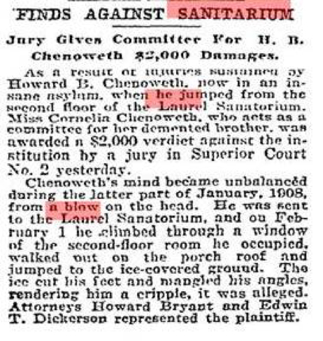 This article appeared in the Baltimore Sun on June 22, 1917. Source: Baltimore Sun archives.