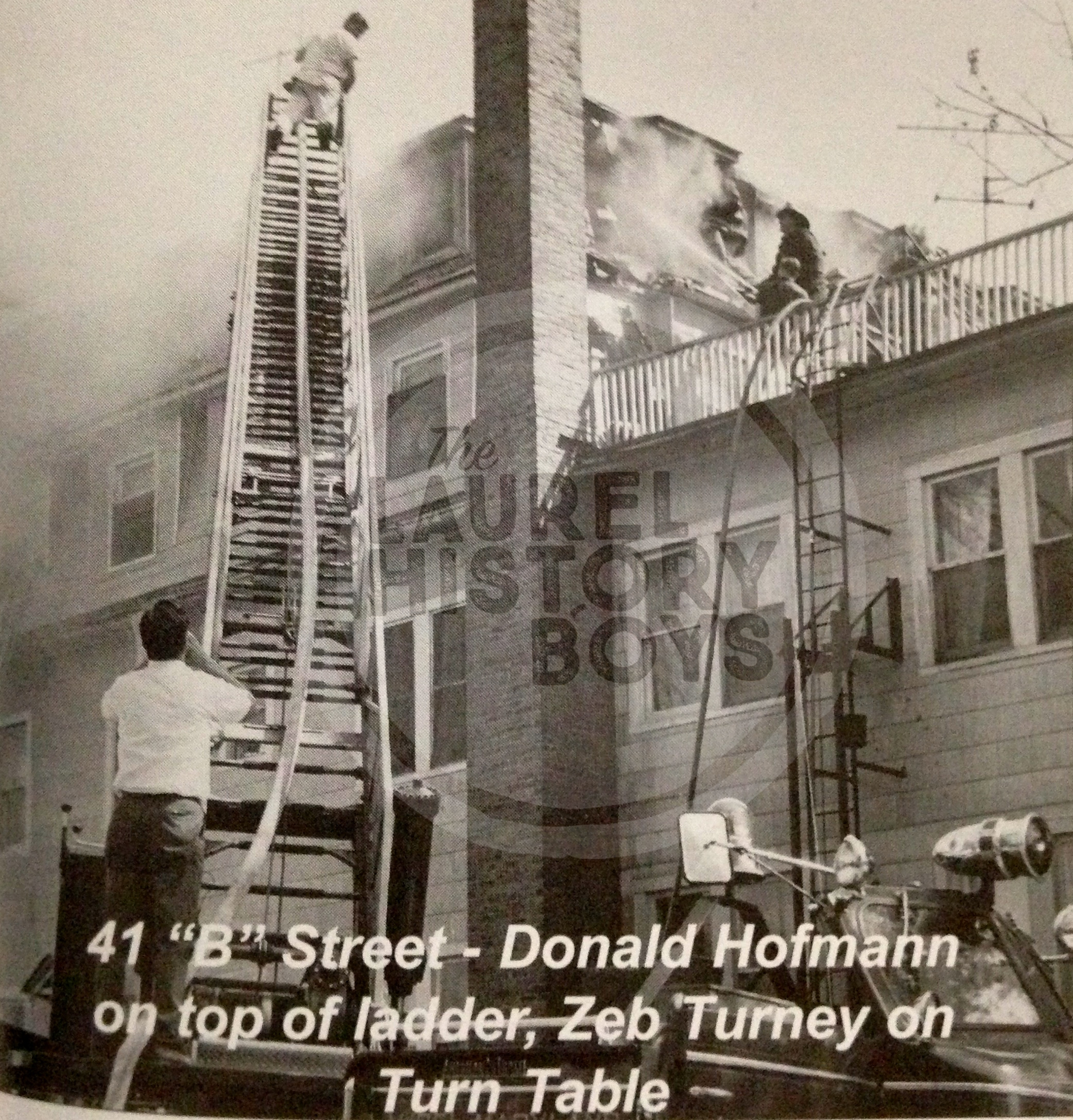 (Source: Laurel Volunteer Fire Department 100th Anniversary book, 2002)
