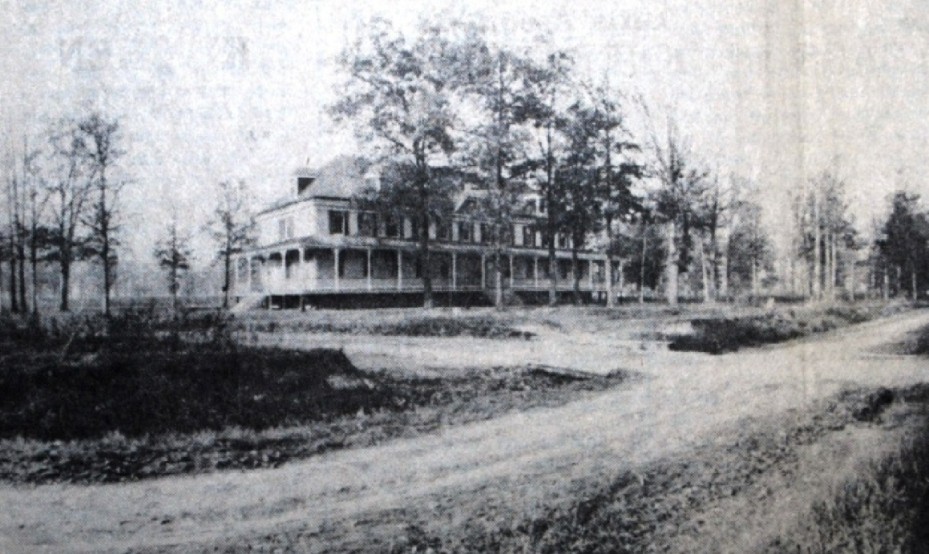 The Brewster Park Hotel, which was moved to the sanitarium grounds and became a dormitory. Source: Laurel Historical Society.