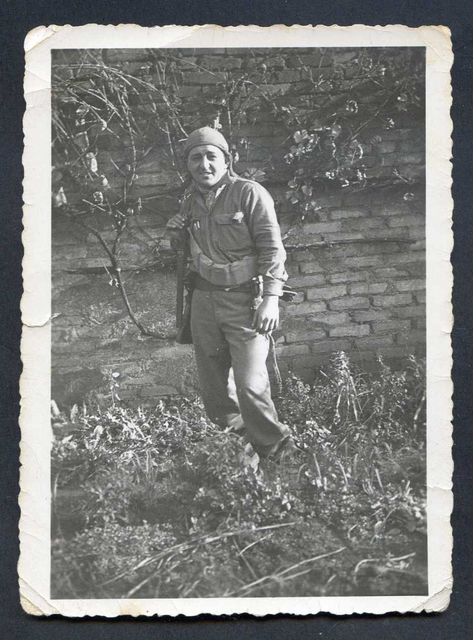 In Loving Memory Of My Dad 1923-2010 General Patton's Finest WWII Somewhere in Germany