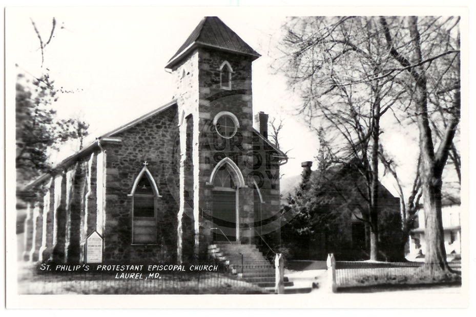 St. Philips Church sits at the corner of Sixth and Main Streets.